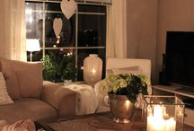 Living room / Candles