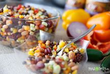 Three bean salad with Corn / Salad