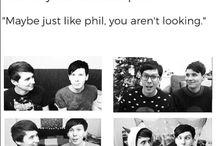 Dan & Phil >•<