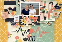 Scrapbook couple yearbook ideas