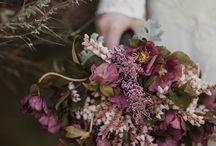 Brudebukett / Blomster