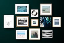 Gallery wall groupings