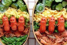 Bento Delicious Appetizing foods