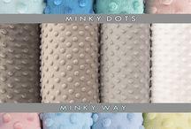 Minkyway - New Color Card for Minky Dots / Minkyway - our color card for Minky Dots Fabrics - we ship orders in Europe - jist contact us www.minkyway.pl