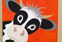 Cow close ups for kids