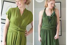 Dresses and clobber