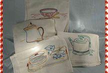 Tea Towels / by Cynthia Runnels