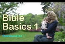 Freedom Kids Bible Videos / Free Biblical resource introducing young kids to Scripture through videos, books, music and apps!