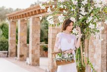 A Chic Botanical Wedding Shoot . Flowers by redboxdays.gr / Wedding flowers decoration