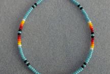 Simple seed bead designs