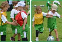 "Pint Size Soccer (for 4-5 years) / This program introduces your child to the basic concepts of soccer. Along with ball skills, they will also learn how to kick the ball and play the ""Big Game"" at the end of every session.  http://www.grasshoppersoccer.com.au/pint-size-soccer-for-4-5-years"