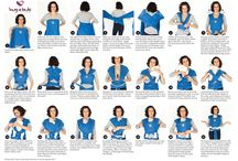 Baby wearing / Baby wearing tips and tricks