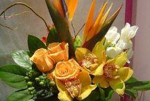 Los arreglos más espectaculares de floreros