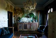 rooms / by Elizabeth Moon Shivvers