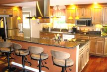 Bedford Kitchen / New Kitchen cabinets & faucets!