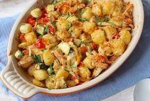 aardappelgerechten met kip