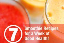 Best Vega Smoothie Recipes / For the Vega Smoothie Pinterest contest