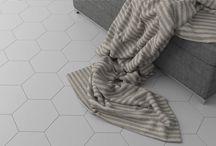 Hexa Floor | Floor tiles by WOW