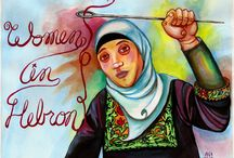Women In Hebron Poster  / Coming soon from Women in Hebron: An informational poster about our work, featuring the artistic talents of one of our many volunteers!