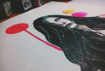 The artwork. / My artwork since 2011