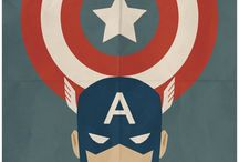 Illustration Captain America