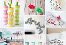 Decoración / Inspírate con estas prácticas, originales e ingeniosas ideas para decorar tu casa, tu habitación, oficina...etc