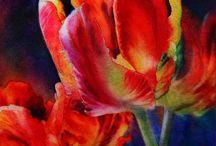 Flowers / acquerelli