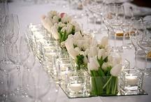 centrotavola tulip e specchio
