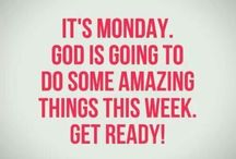 Monday / Fresh start