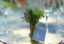 flowers , tables , and deco