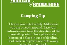 Camping, Caravanning and Motorhome Tips / Handy tips to make your camping experience go as smoothly as possible.