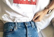 jeansy+t-shirt