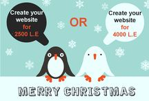 Christmas offer from A3lany / A3lany made for you a special offer in Christmas . It is a professional website , with  present 200 L.E credit , you can choose from the list with marketing package do you prefer . and this website cost 2500 L.E !! And another website for 4000 L.E , and you can get the present cost 400 L.E credit and you can choose from the list marketing package !! you can follow us in our facebook page : https://www.facebook.com/A3lany.com1