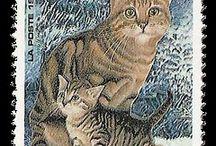 Timbre de cat's / Timbres de chat
