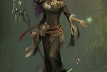 dryad's of the forest
