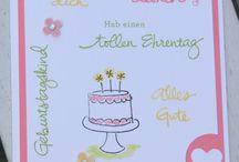 Stampin up Geburtstag