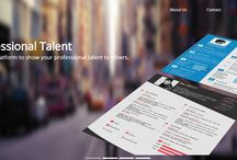 """myflatcv.com / Join MYFLATCV.COM, to create flat resumes online. Choose amongst the best responsive templates .  """"Be Professionally Impressive"""""""