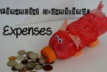 Organizing Money & Finances