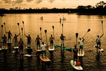 SUP paddle play / ...if the water calls me all chaos subsides and total tranquility settles in...