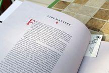 Books and magazine design