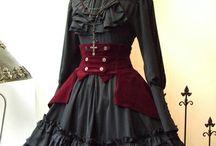 vestidos victorianos