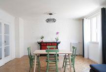 Appartement LM / Rénovation complète d'un appartement de type trois pièces.