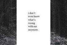 Sad, depressed