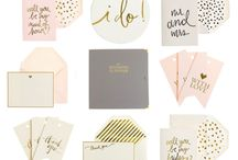 Stationary, Invitations, & Paper