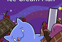 Ice Cream Man / You obviously want to read an ebook about a MAN MADE OF ICE CREAM IN SPACE