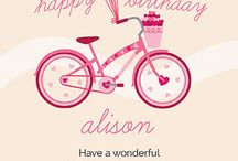 Birthday Cards / Send out birthday wishes with our exclusive collection of birthday cards. Find the perfect card for as low as $0.70. / by Oubly - Custom Printing