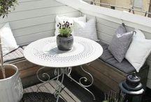 Small comfy balcony