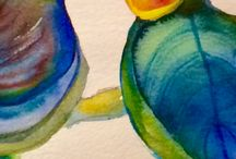 Fiona Radford...Watercolours / Paintings