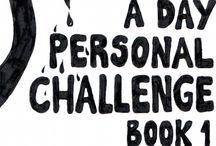 Desafio 365 - 365 Challenge / 365 desenhos, rabiscos, esboços, exercícios, não importa, mas tem que fazer arte todo dia. A meta é melhorar :) www.soraiacasal.com