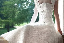 Wedding dress for an anachronistic woman
